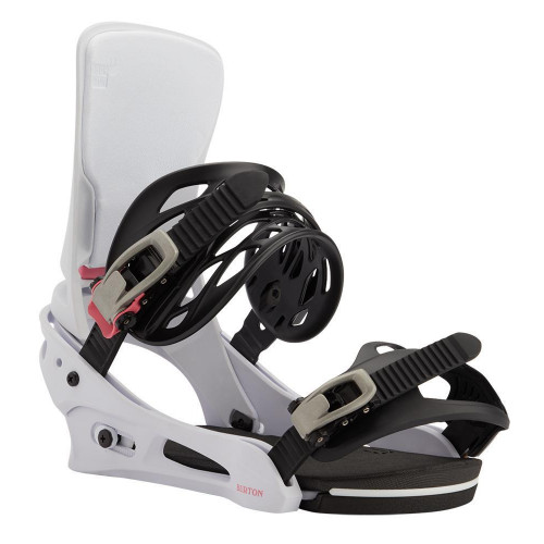 Burton Cartel Re:Flex Mens Snowboard Bindings Miami White 2021