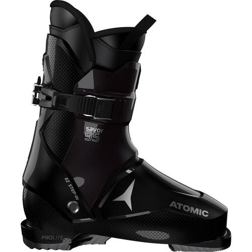 Atomic Savor 95 W Ski Boots Black/Dark Purple 2020