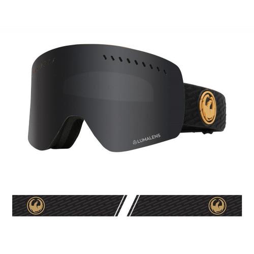 Dragon NFXs Goggles PK Gumsole - Lumalens Dark Smoke + Lumalens Rose 2021