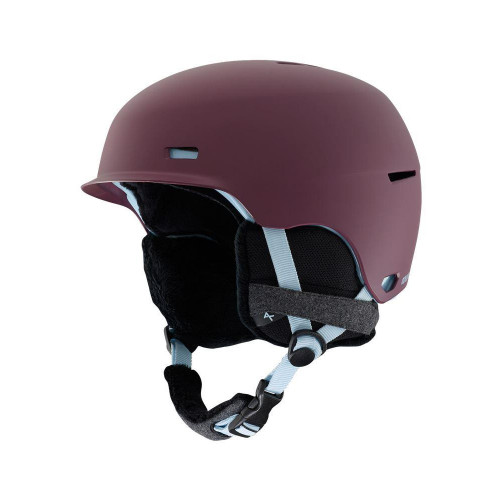Anon Raven 2019 Womens Ski & Snowboard Helmet Purple
