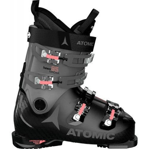 Atomic Hawx Magna 95 S W Womens Ski Boots 2021 Black/Anthracite/Coral