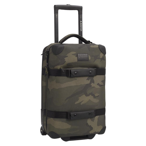 Burton Wheelie Flight Deck 38L Travel Bag Worn Camo Ballistic