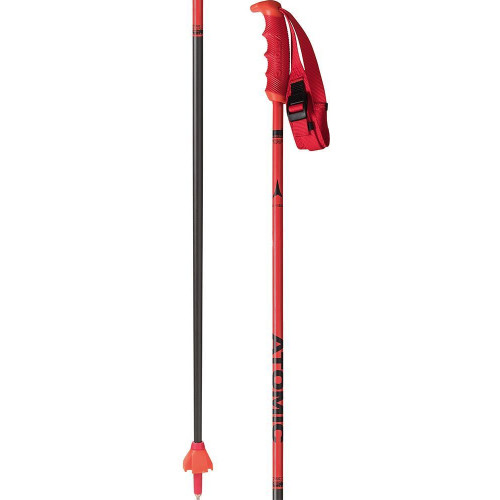 Atomic Redster Carbon Ski Poles Red
