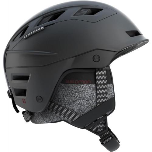 Salomon QST Charge MIPS Ski + Snowboard Helmet Black