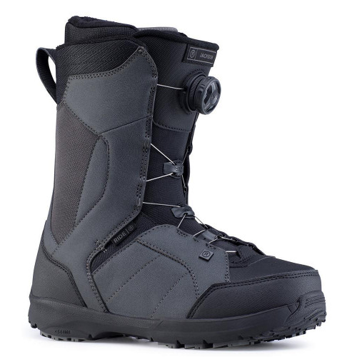 Ride Jackson BOA Mens Snowboard Boots Grey 2020