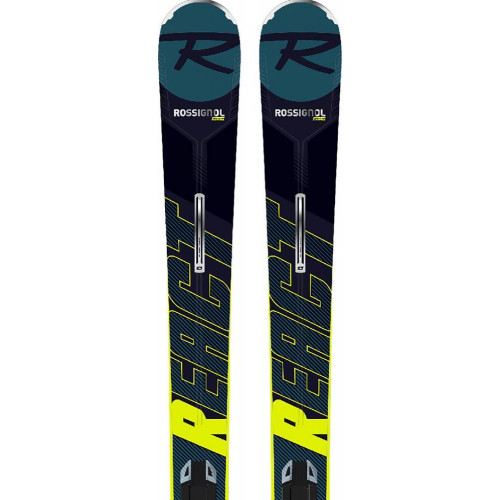 Rossignol React R8 HP Skis + NX 12 Bindings 2020