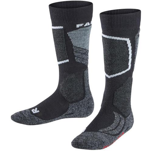 Falke SK2 Kids Ski Socks Black-Mix