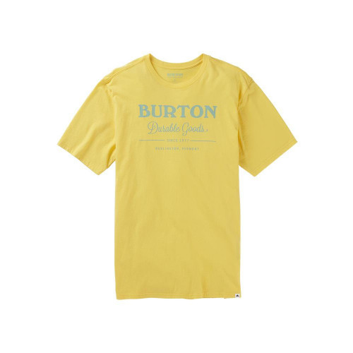 Burton Men's Durable Goods SS T-Shirt Yellow Pepper