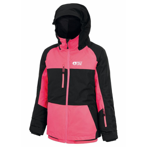 Picture Kalmie Junior Jacket Black/Neon Pink