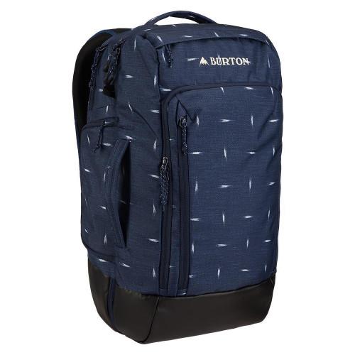 Burton Multipath 27L Travel Backpack Dress Blue Basket Ikat
