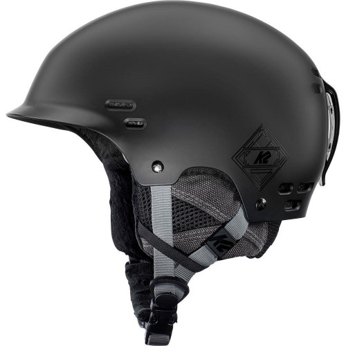 K2 Thrive Ski + Snowboard Helmet Black 2020