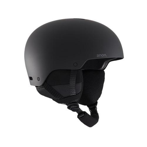 Anon Raider 3 Ski + Snowboard Helmet Black 2021