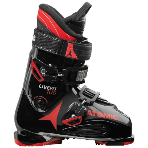 Atomic Live Fit 100 2019 Ski Boots Black/Anthracite/Red