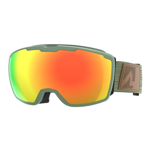 Marker Perspective+ Goggles Grey - Red Plasma Mirror + Clarity Mirror Lens