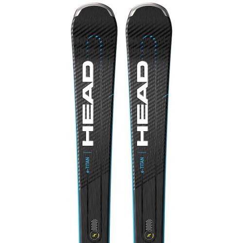 Head Supershape e-Titan 2021 Skis + PRD12 GW Bindings