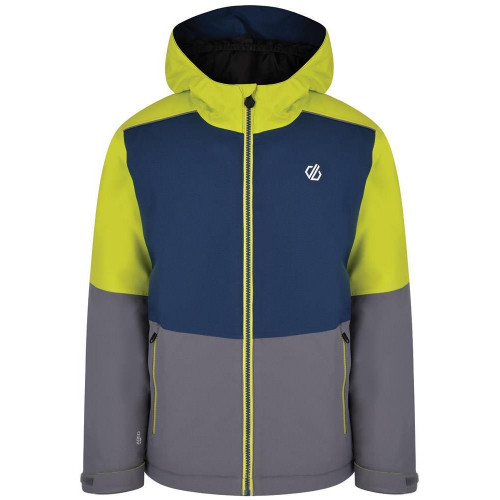 Dare 2b Aviate Kids Jacket Aluminium Grey/Admiral Blue