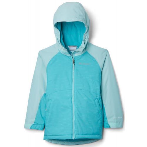 Columbia Alpine Action II Girls Jacket G-Geyser, Spray