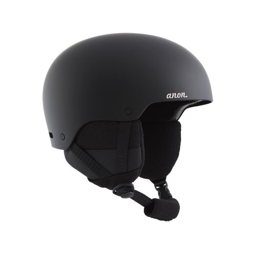 Anon Greta 3 Womens Ski + Snowboard Helmet Black 2021