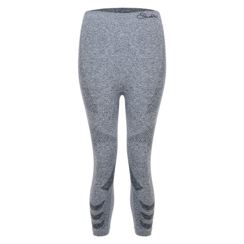 Dare 2b Womens Zonal III 3/4 Thermal Leggings Charcoal Grey