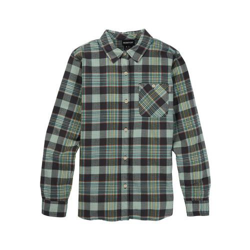 Burton Women's Grace Flannel Shirt Phantom Somerset Plaid