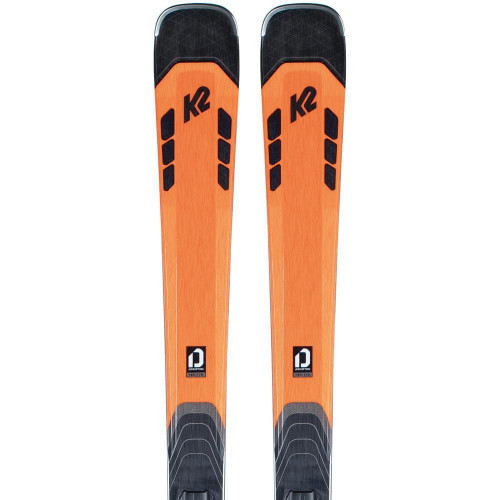 K2 Disruption 78C 2021 Skis + M3 11 QC Bindings