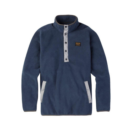 Burton Hearth Fleece Pullover Mood Indigo