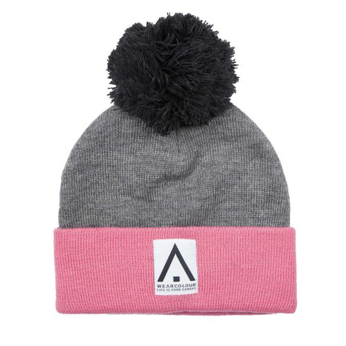 Wear Colour Bliss Womens Beanie Grey Melange