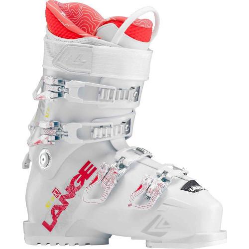 Lange XT 70 W 2018 Womens Ski Boots White / Coral