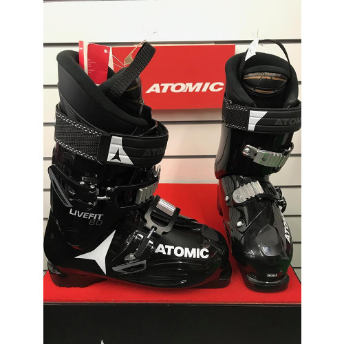 Atomic Live Fit 80 2019 Ski Boots Black/Anthracite/White 26/26.5 - Ex-Display Model