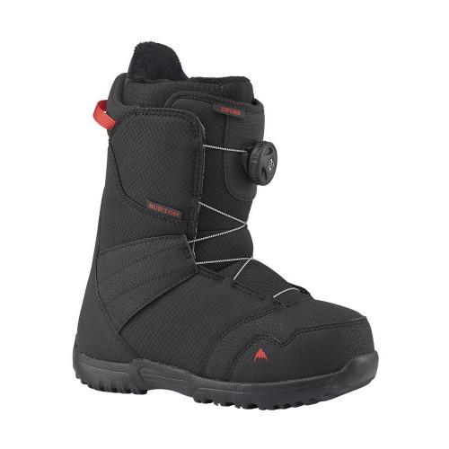 Burton Zipline BOA Junior Snowboard Boots Black