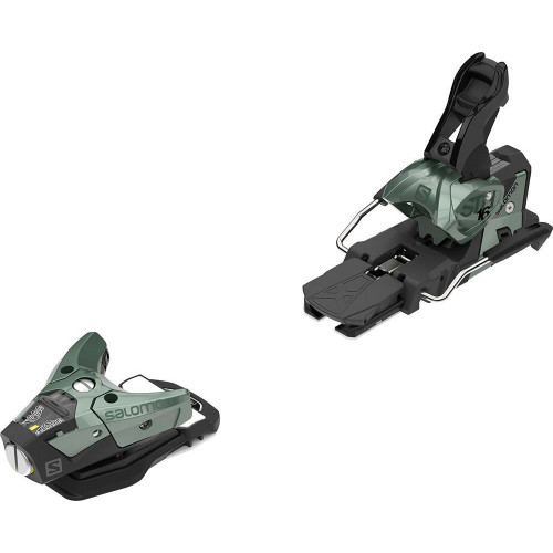 Salomon STH2 WTR 16 Ski Bindings Oil Green
