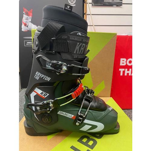 Dalbello Krypton 130 ID Ex-Demo Unisex Ski Boots Forest Green/Black 2021 26.5