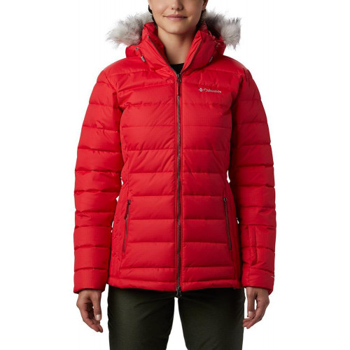 Columbia Ponderay Womens Jacket Red Lily