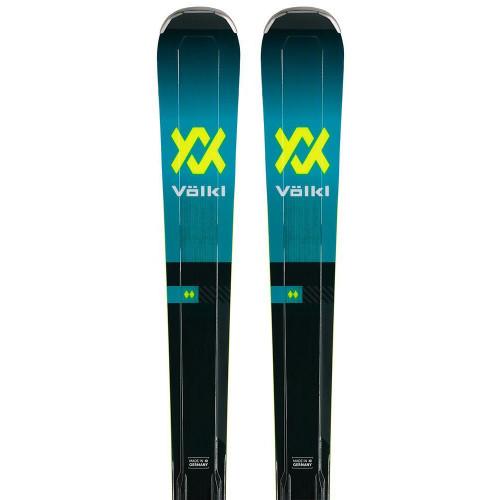 Volkl Deacon 84 Skis + Lowride XL 13 FR GW Bindings 2020