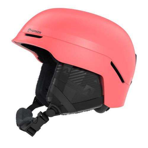 Marker Convoy Womens Ski + Snowboard Helmet Coral