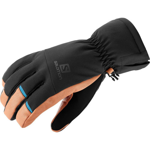 Salomon Propeller Dry Mens Gloves Black/Tan