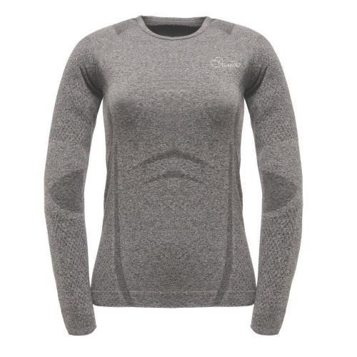 Dare 2b Womens Zonal III Long Sleeve Thermal Top Charcoal Grey