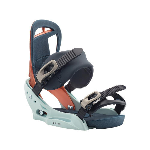 Burton Scribe EST Womens Snowboard Bindings Wood Grain Jane 2020
