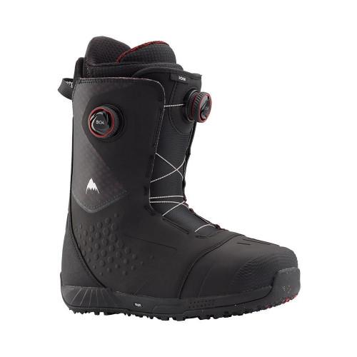 Burton Ion BOA Mens Snowboard Boots Black/Red 2020
