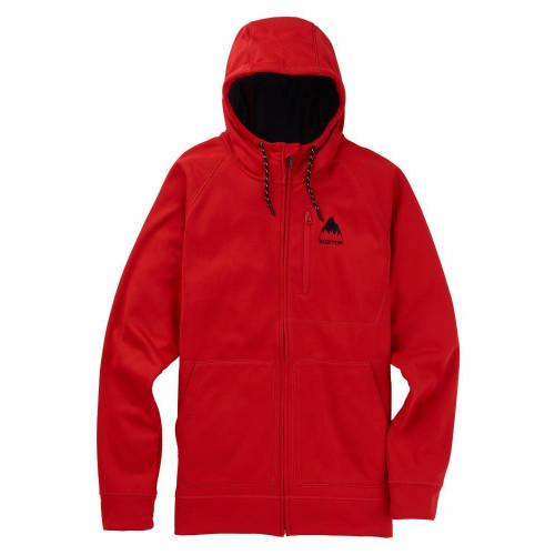 Burton Crown Bonded Full-Zip Hoodie Aura Red