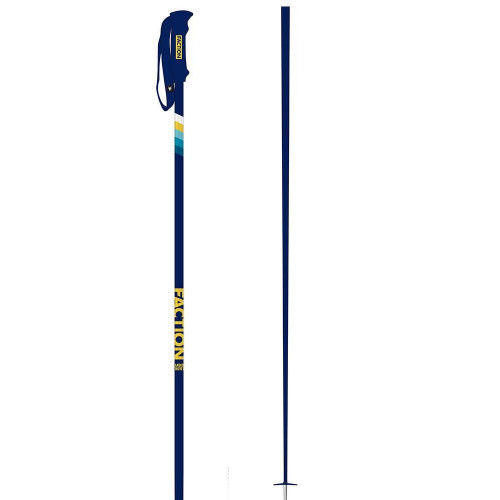 Faction Candide CT Ski Poles Blue