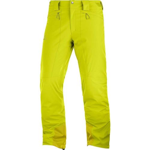 Salomon Icemania Mens Pants Citronelle 2020