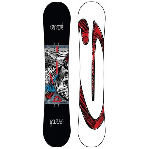 GNU Asym Carbon Credit BTX Snowboard 2020 156cm