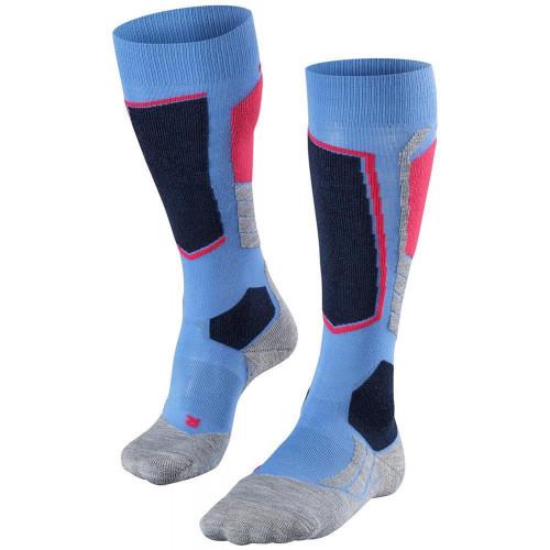 Falke SK2 Womens Ski Socks Blue Note