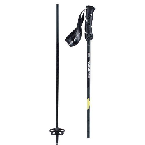 K2 Power Carbon Ski Poles Yellow