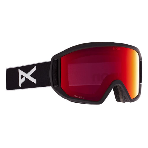 Anon Relapse Goggles Black - Perceive Sunny Red + Amber Spare Lens