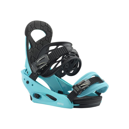 Burton Smalls Junior Snowboard Bindings Surf Blue
