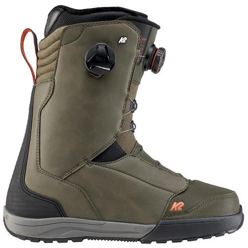 K2 Boundary Mens Snowboard Boots Green 2020