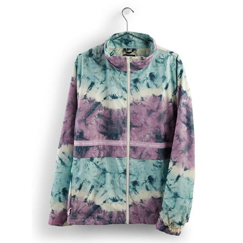 Burton Men's Melter Jacket Ether Blue Tidal Dye