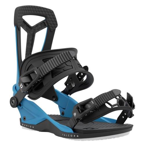 Union Falcor Mens Snowboard Bindings Ultra Blue 2021